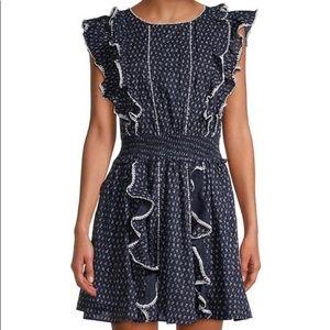 La Vie Rebecca Taylor Ikat Leaf Dress